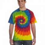 CD100 Tie-Dye 5.4 oz., 100% Cotton Tie-Dyed T-Shirt
