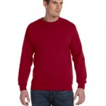 G120 Gildan DryBlend® 9.3 oz., 50/50 Fleece Crew