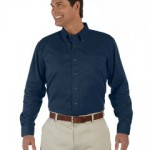 D500 Devon & Jones Men's Long-Sleeve Titan Twill